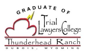 Graduate of Trial Lawyers College Logo